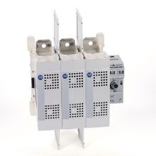 Allen-Bradley, 194R Fused and Non-Fused Disconnected Switches, Open, J fuse, 400 A, 3 Pole