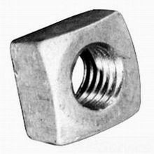 Hubbell, Square Nut, 5/8 Inch, Galvanized Steel, 250/Pack