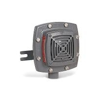 Edwards Signaling™ 878EX-N5 High Decibel Vibrating Horn, 120 VAC, 0.13 A, 100 dB at 10 ft, Wall Mount, Gray