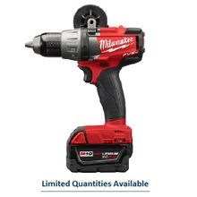 Milwaukee® M18 FUEL™ Cordless Hammer Drill/Driver Kit, 1/2 in Keyless Chuck, 1200 in-lb Torque, 18 V, Li-Ion Battery