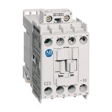 Allen-Bradley, 100-C23D10, 100-C IEC Contactor, Screw Terminals, Line Side, 23A, 1 N.O.  0 N.C. Auxiliary Contact Configuration