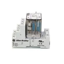Allen-Bradley, Blade Base Socket, Bulletin 700-HB Relays, Panel or DIN Rail Mount, Screw