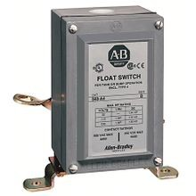 Allen-Bradley, 840-A1, 840 Automatic Float Switch, Style A - Industrial Switch, Low Operating Force, Convertable for Tank or Sump Operation, Type 1 Enclosure, Standard contacts