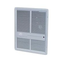 TPI 3310 Fan-Forced Electric Wall Mount Heater With Single Pole Thermostat, 13648/6826 Btu, 240/208 V, 16.8/14.4 A