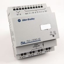 Allen-Bradley, 1760-L12AWA-ND, Pico Controller, 8 Digital Inputs, 4 Relay Outputs, 120/240V AC, No Display