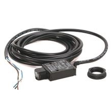 Allen-Bradley, 42KL-P2LB-F4, PHOTOSWITCH Photoelectric Sensor, MiniSight, Polarized Retroflective, 2m (6.6ft), 10.8-30V DC - LO or DO selectable, 4-pin DC Micro QD on 152mm (6in) pigtail