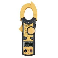 IDEAL® 740 Clamp Meter, 600/400 VAC/VDC, 600/400 A, 400 kOhm, 50 to 500 Hz, 1-1/4 in Jaw, LCD Display