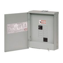 Cutler-Hammer BR1020B100RF Single Phase Main Circuit Breaker Load Center With BR3RDOOR2 Covers, 120/240 VAC, 100 A, 10 kA Interrupt