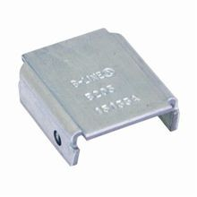 B-Line B205ZN Blank Type X Channel End Cap, 1-5/8 in W, For Use With B22 Channel, Low Carbon Steel, Zinc Plated