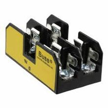 Edison BM6032SQ Supplementary Fuse Block, 600 VAC/VDC, 1/10 - 30 A, 18 - 10 AWG Wire, 2 Poles