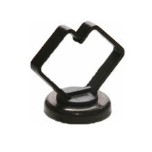 Rack-A-Tiers® Mag Daddy™ RM075BK Magnet Cable Holder, 3/4 in, 10 lb Magnetic Strength, Black Oxide