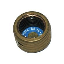 Bussmann, Plug Fuse Adapter, Used with S-15 to S-7 Fuses, Edison Base, 15 Ampere, 125 Volts