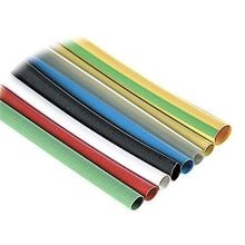 Shrink-Kon® CPO Flame Retardant Non-Lined Heat Shrink Tubing, 1/4 in ID Expanded, 0.13 in ID Recovered, 6 ft L