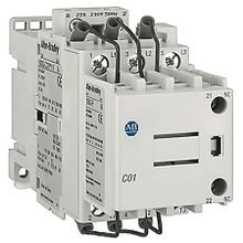 Allen-Bradley, 100Q-C37D11, Contactor, Capacitor-Switching, 37A, 110V 50Hz / 120V 60Hz, 1 N.O., 1 N.C. Aux.