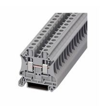 Eaton, Terminal Block, 8 AWG, 8.2 mm, Feed Through, Gray, 50/Pack