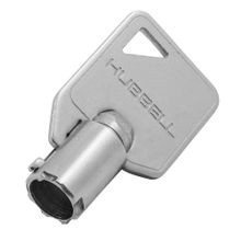 Wiring Device-Kellems HBL1209RKL Cylindrical Extra Heavy Duty Standard Replacement Barrel Key, For Use With Security Locking and Industrial Grade General Purpose Switch, Composite
