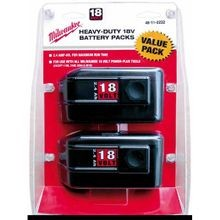 Milwaukee® V18™ Rechargeable Slide Style Cordless Battery Pack, 2.4 Ah NiCd Battery, 18 V (Bare Tool)