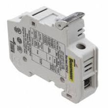 Bussmann® CHCC1DIU Finger-Safe Modular Fuse Holder With LED Indicator, 600 VAC, 30 A, 18 - 4 AWG Wire, 1 Poles