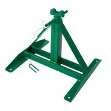 Greenlee® 687 Adjustable Telescoping Stand, 2500 lb Load, 13 in H Min, 28 in H Max