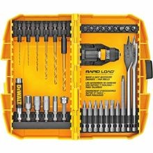 DeWALT® Guaranteed Tough® DW2522 Quick-Change Screwdriver Bit Set, 32 Pieces, 1/4 in Hex Shank, Steel
