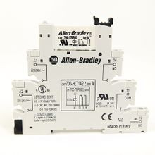 Allen-Bradley, 700-HL Electromechanical Relay Output, DPDT (2 C/O), w/ Screw Terminals, 110/125V AC/DC, Touch Safe Terminal Construction