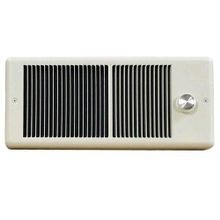 TPI 4300 Fan-Forced Electric Wall Mount Heater With Wall Box, 5120 Btu, 120 V, 15 A, 1500 W