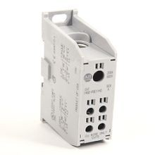 Allen-Bradley, 1492 Enclosed Power Distribution Block, 1-Pole, Aluminum, 1 Opening Line Side, 4 Openings Load Side, 200 Amps