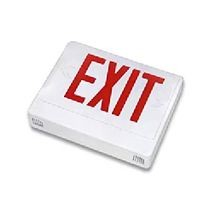 Exitronix® VEX Exit Sign With Battery, LED Lamp, 120/277 VAC, EXIT Legend