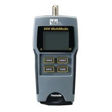 IDEAL® 33-856 VDV Multimedia Cable Tester, LCD Display