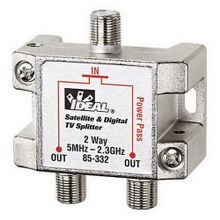 IDEAL 85-332 2-WAY 2.3 GHZ SPLITTER