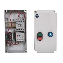 Allen-Bradley, 109C IEC Enclosed Non-reversing Non-Combination Starter, 100-C16, IP66 (EN/IEC Only) ABS Plastic - Small (Indoor Use Only), 230V 50/60Hz, E1 Plus OLR 3.20 - 16.00A