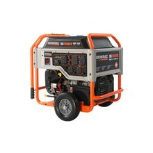 Generac® 5802 XG10000E Portable Generator, 120/240 VAC, 83.3 A, 12500 W Starting/10000 W Running, OHVI Engine, 3600 rpm