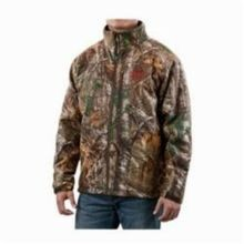 Milwaukee® 2393-L M12™ Insulated Heated Jacket Kit, L, Men's, Realtree® Xtra® Camouflage/Black Lining, Noise Reducing Polyester/Spandex® Softshell/Thermal Knit Fleece