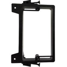 Arlington LVS1 Low Voltage Mounting Bracket, Threaded Mount, Plastic