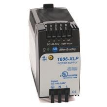 Allen-Bradley, 1606-XLP50B, Compact Power Supply, 12-15V DC, 50 W, 120/240V AC / 85-375V DC Input Voltage