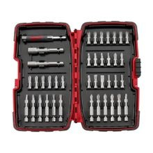 Milwaukee® 48-32-1505 Screw Driving Set, 40 Pieces, Torx Drive, 1/4 in Minimum Chuck Required, 5/16 in Shank Dia