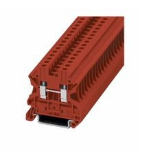 Eaton, Terminal Block, 10 AWG, 6.2 mm, Feed Through, Red, 50/Pack