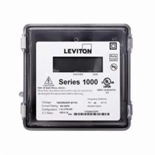 Leviton® VerifEye™ 1000 3-Wire Outdoor Dual Element Meter, 120/208/240 VAC, 100 A, LCD Display