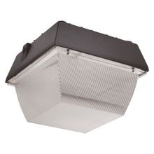 Atlas® VN12 Classic Vandal Proof Canopy Light, LED Lamp, 56 W Fixture, 120 to 277 VAC, Bronze Housing