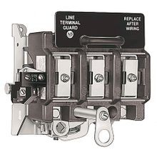 Allen-Bradley, 1494R-N100, Variable Depth Door Mounted Rotary Disconnect Switch, 100A