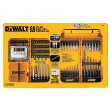 DeWALT® DW2587 Pro Drill/Driving Set, 80 Pieces, For Use With Corded and Cordless Impact Drivers and Impact Wrenches