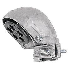 Steel City® SH-108 Clamp-On Service Entrance Cap, 3 in, 7 1-1/8 in Holes, For Use With Rigid, IMC and EMT Conduit