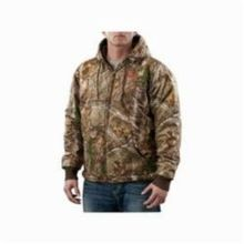 Milwaukee® 2382-XL M12™ Heated Hoodie, XL, Men's, Realtree® Xtra® Camouflage Outer/Brown Lining, Polyester Blend Inner/Waffle Weave Cotton