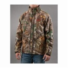 Milwaukee® 2392-XL M12™ Insulated Heated Jacket, XL, Men's, Realtree® Xtra® Camouflage/Black Lining, Noise Reducing Polyester/Spandex® Softshell/Thermal Knit Fleece