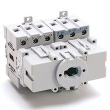 Allen-Bradley, 194E-A25-1753, IEC Load Switch, Open - Base / DIN Rail, OFF-ON  90°, 25A, 3 Poles