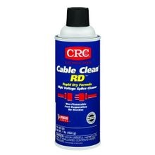 CRC® 02150 High Voltage Non-Flammable Splice Cleaner, 16 oz Aerosol Can, Liquid, Clear, Strong