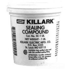 KILLARK® SC Sealing Compound, 8 oz, Powder, Gray, 2.7 Specific Gravity