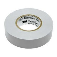 3M™ Temflex™ 1700C General Purpose Single Coated Electrical Tape, 3/4 in W x 66 ft Roll L, 7 mil THK, Gray