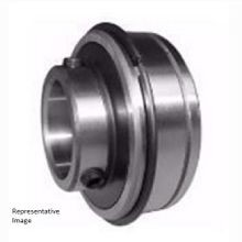 SER207-23 Ball Bearing Insert, Includes Snap Ring and Groove Set Screw, Locking Design