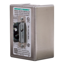 BRYANT® 30102D Enclosed AC Motor Disconnect Switch, 600 VAC, 30 A, 15 hp